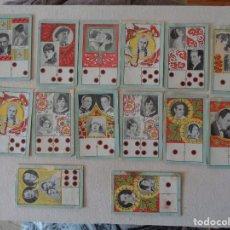 Barajas de cartas: 14 CARTAS BARAJA DOMINO.1920.REF.-12. Lote 198678341