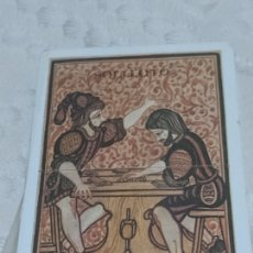 Barajas de cartas: BARAJA NUMÉRICA DE 49 CARTAS Y DOS COMODINES CREACIÓN DE F. MARTOS. Lote 198751817