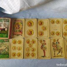 Barajas de cartas: FOURNIER CARTAS PUBLICIDAD DE TRACTORES AVTO ANTIGUA .. Lote 198757762