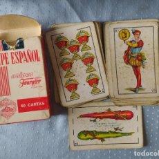 Barajas de cartas: JUEGO DE 40 CARTAS. HERACLIO FOURNIER Nº 1. NAIPE OPACO. 1962. . Lote 198759705