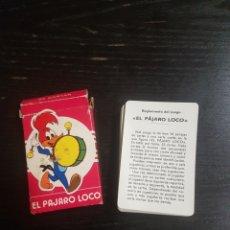 Barajas de cartas: BARAJA FOURNIER EL PÁJARO LOCO COMPLETA AÑO 1974-WALTER LANTZ PRODUCTIONS VITORIA NAIPES CARTAS. Lote 198955317