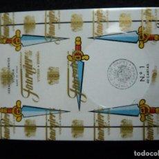Barajas de cartas: BARAJA ESPAÑOLA-HERACLIO FOURNIER-Nº1(40 CARTAS)-NUEVA,PRECINTADA CON ESTUCHE. Lote 199041338