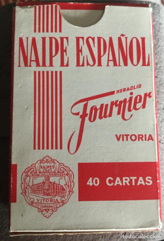 NAIPE ESPAÑOL - FOURNIER - BBV BANCO BILBAO VIZCAYA - 40 CARTAS - FIBRA MARFIL - NUEVAS PRECINTADAS (Juguetes y Juegos - Cartas y Naipes - Baraja Española)