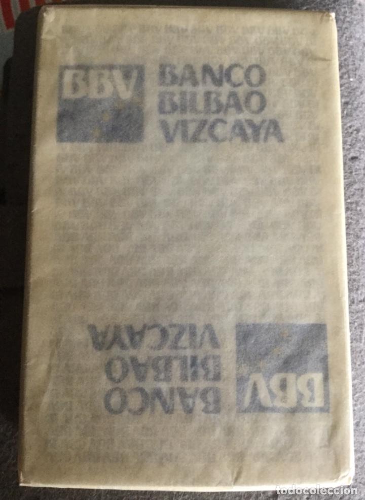Barajas de cartas: NAIPE ESPAÑOL - FOURNIER - BBV BANCO BILBAO VIZCAYA - 40 CARTAS - FIBRA MARFIL - NUEVAS PRECINTADAS - Foto 2 - 199043917
