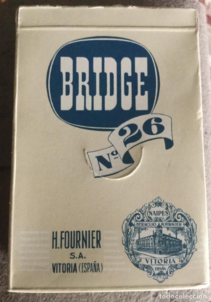 BRIDGE N° 26 - FOURNIER - NUEVA SIN ABRIR - NAIPES FINRA MARFIL (Juguetes y Juegos - Cartas y Naipes - Baraja Española)