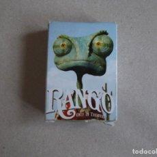 Barajas de cartas: JUEGO DE CARTAS MINI BARAJA RANGO -BURGER KING. Lote 199053768