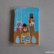 Barajas de cartas: JUEGO DE CARTAS LA VUELTA AL MUNDO WILLY FOC 1983. Lote 199054966