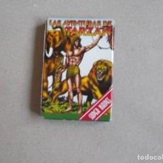 Barajas de cartas: JUEGO DE CARTAS LAS AVENTURAS DE TARZAN. Lote 199055571
