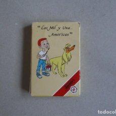 Barajas de cartas: JUEGO DE CARTAS LAS MIL Y UNA AMERICAS-FOURNIER. Lote 199055966