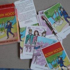 Barajas de cartas: JUEGO DE CARTAS ROBIN HOOD. Lote 199057615