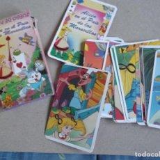 Barajas de cartas: JUEGO DE CARTAS ALICIA EN EL PAIS DE LAS MARAVILLAS. Lote 199057782