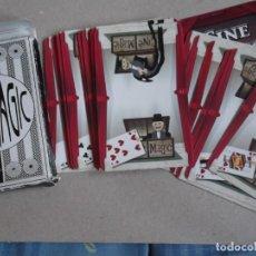 Barajas de cartas: JUEGO DE CARTAS CINE MAGIG. Lote 199058448