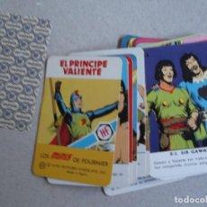 Barajas de cartas: JUEGO DE CARTAS MINIS DE FORUNIER EL PRINCIPE VALIENTE. Lote 199059043
