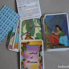 Barajas de cartas: JUEGO DE CARTAS SIMBAD EL MARINO. Lote 199059240