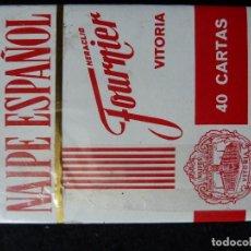 Barajas de cartas: BARAJA ESPAÑOLA-HERACLIO FOURNIER-40 CARTAS·PUBL.CAJA DE AHORROS DE VITORIA -NUEVA,PRECINTADA. Lote 199065600