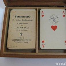 Barajas de cartas: NAIPES ASS - CON EL AGUILA Y ESVASTICA NAZI - 1938 2ª GUERRA MUNDIAL. Lote 199142712