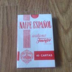 Mazzi di carte: BARAJA DE CARTAS NAIPE ESPAÑOL FOURNIER - PUBLICIDAD CAJA DE BURGOS. Lote 199168953