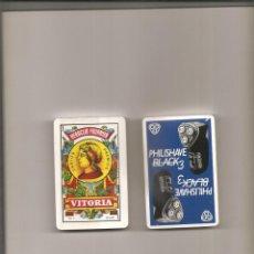 Barajas de cartas: 1597. HERACLIO FOURNIER. PHILIPSHAVE. Lote 199229540