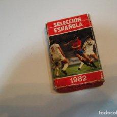 Barajas de cartas: BARAJA INFANTIL FOURNIER ANTIGUA FUTBOL VINTAGE MUNDIAL ESPAÑA 82 - EDITADA 1981 SELECCION ESPAÑOLA. Lote 199325863