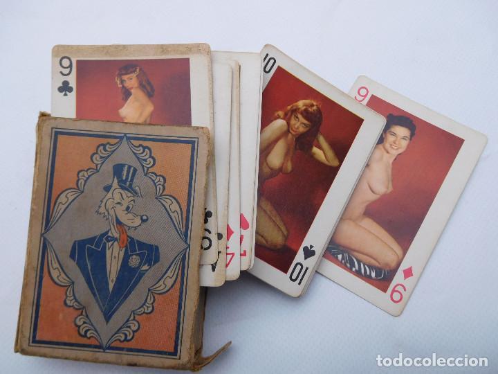 ANTIGUA BARAJA DE POKER EROTICO ART STUDIES USA DESNUDOS COMPLETA (Juguetes y Juegos - Cartas y Naipes - Barajas de Póker)