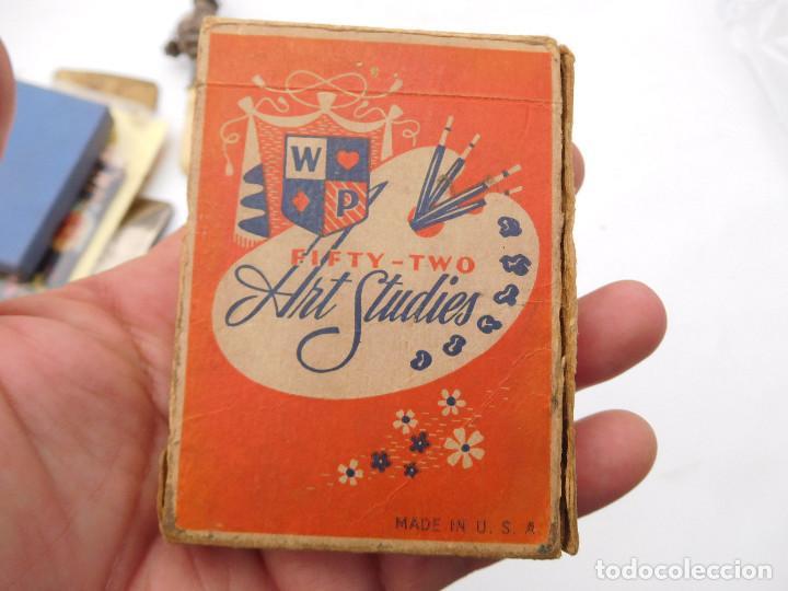 Barajas de cartas: Antigua baraja de poker erotico art studies USA desnudos completa - Foto 2 - 199493103