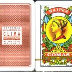Barajas de cartas: CLIMA REFORMAS - BARAJA ESPAÑOLA 50 CARTAS. Lote 199729427