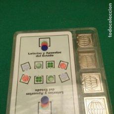 Jeux de cartes: BARAJA DE CARTAS ESPAÑOLA - LOTERIAS Y APUESTAS DEL ESTADO - CON AMARRACOS Y ESTUCHE DE PLASTICO. Lote 199789320