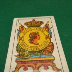 Baralhos de cartas: SENCILLA BARAJA DE CARTAS ESPAÑOLA - NAIPES COMAS 2-S - PRECINTADA. Lote 210578243