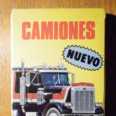 Baralhos de cartas: BARAJA INFANTIL - NAIPES - JUEGO DE 33 CARTAS - FOURNIER - CAMIONES - COMPLETA - . Lote 199892640