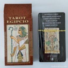 Jeux de cartes: CARTAS DEL TAROT. TAROT EGIPCIO. LO SCARABEO. PRECINTADA. W. Lote 200100917