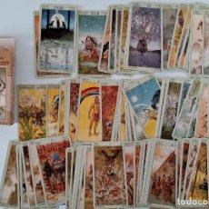 Jeux de cartes: CARTAS DEL TAROT. TAROT DE LOS NATIVOS AMERICANOS. LO SCARABEO. W. Lote 200101227