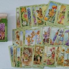 Baralhos de cartas: CARTAS DEL TAROT. TAROT FLORAL. LO SCARABEO. W. Lote 200101393