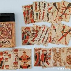 Jeux de cartes: BARAJA ESPAÑOLA GÓTICA SIGLO XVII. HERACLIO FOURNIER. VITORIA. W. Lote 200102098