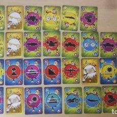 Barajas de cartas: CHOCO KRISPIES KELLOGG'S, 30 CARTAS JUEGO MISSION JUNGLE. Lote 200151062