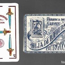 Barajas de cartas: BARAJA HIJA DE B. FOURNIER - AÑO 1930 - MARFIL 1ª ESPECIAL ESTRELLA, Nº 248, REVERSO ROJO. PRECINTAD. Lote 237093600