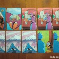 Barajas de cartas: 10 CARTAS MAZINGER Z (1978) DE PIPAS TOSTADERO JEM. SUELTAS 1 EURO C/U.. Lote 98230835