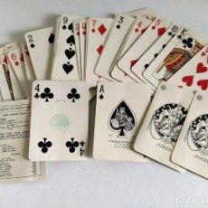 Barajas de cartas: BARAJA PÓKER 54 CARTAS HERACLIO FOURNIER Nº 18 (TIMBRE) / JUAN SEBASTIÁN ELCANO (AÑOS 50/60?). Lote 200382207
