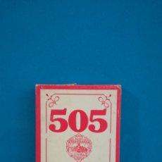 Mazzi di carte: BARAJA DE CARTAS COMPLETA 505 POKER, FOURNIER. Lote 200529122