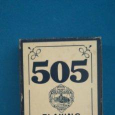 Baralhos de cartas: BARAJA DE CARTAS COMPLETA 505 POKER, FOURNIER. Lote 200529431