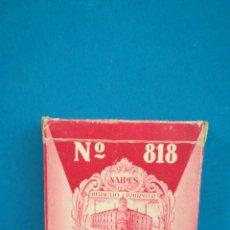 Barajas de cartas: BARAJA DE CARTAS COMPLETA 818 FOURNIER, PUBLICIDAD URBIS S. A.. Lote 200530711