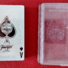 Baralhos de cartas: BARAJA DE POKER. PUBLICIDAD ASLAND. HERACLIO FOURNIER. PRECINTADA. W. Lote 200612722