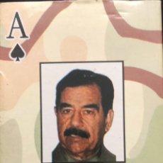 Barajas de cartas: BARAJA SADAM HUSSEIN (GUERRA DEL GOLFO). Lote 200662276