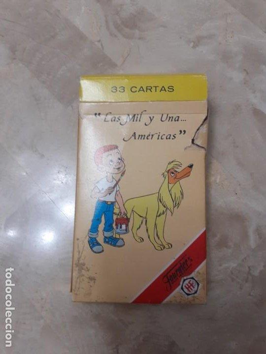 Barajas de cartas: Baraja infantil las mil y una Americas de Fournier - Foto 2 - 200775188