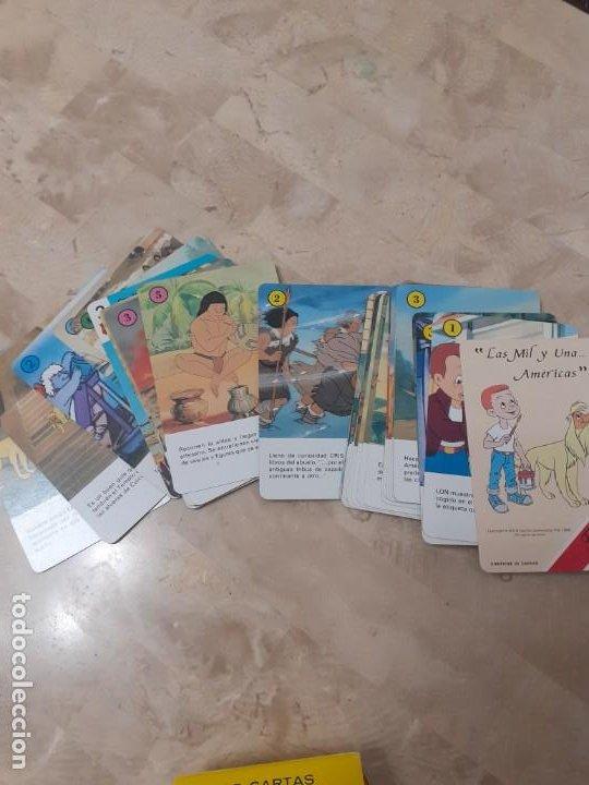 Barajas de cartas: Baraja infantil las mil y una Americas de Fournier - Foto 3 - 200775188