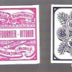 Barajas de cartas: BARAJA LOS DOS TIGRES DE FOURNIER, SIN SELLO, PRECINTADA.. Lote 200803627
