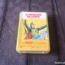 Barajas de cartas: MINI BARAJA HERACLIO FOURNIER 1978 EL PRINCIPE VALIENTE COMPLETA 25 CARTAS ... ZKR. Lote 200886587