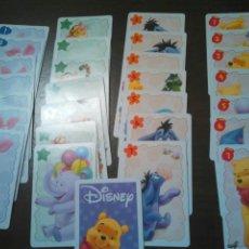 Barajas de cartas: VIEJO LOTE DE 29 CARTAS DE DISNEY,VER. Lote 201138917