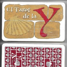 Barajas de cartas: EL TAROT DE LA Y - CAMINO DE SANTIAGO. NAIPES COMAS. PRECINTADO.. Lote 201194168