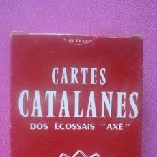 Barajas de cartas: BARAJA CATALANA DOS ECOSSAIS AXE DUCALE DE 48 CARTAS .. Lote 201210537