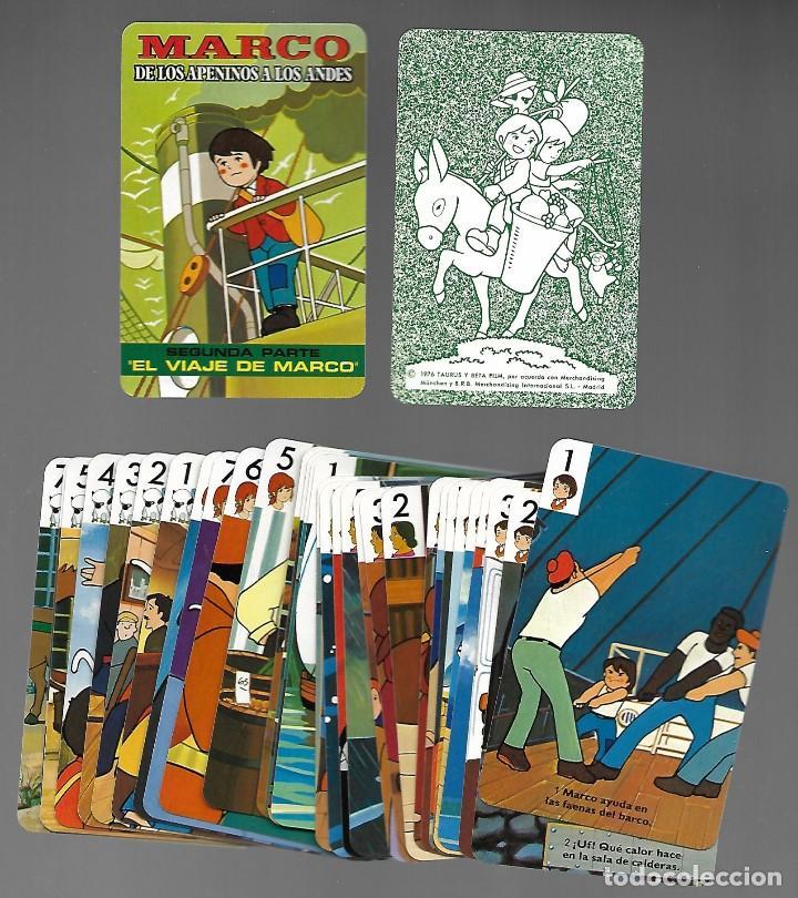 Barajas de cartas: DOS BARAJAS MARCO DE LOS APENINOS A LOS ANDES, 1ª Y 2ª PARTE. NUEVAS. - Foto 2 - 261916355